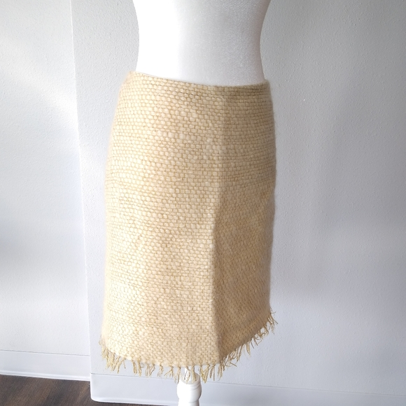 Moschino Mohair and Wool Skirt
